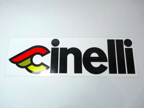 "Cinelli Sticker Original Large 6/"" x 19/"" Vintage road Racing bike  NOS"