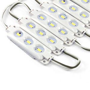 20-Stueck-LED-Module-Modul-SMD-5630-Wasserdicht-Selbstklebend-12V-DC-Warm-Kalt
