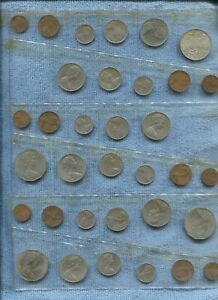 1966-1971 Date Sets of Australian Coins inc 1966 Silver 50 Cent S-955