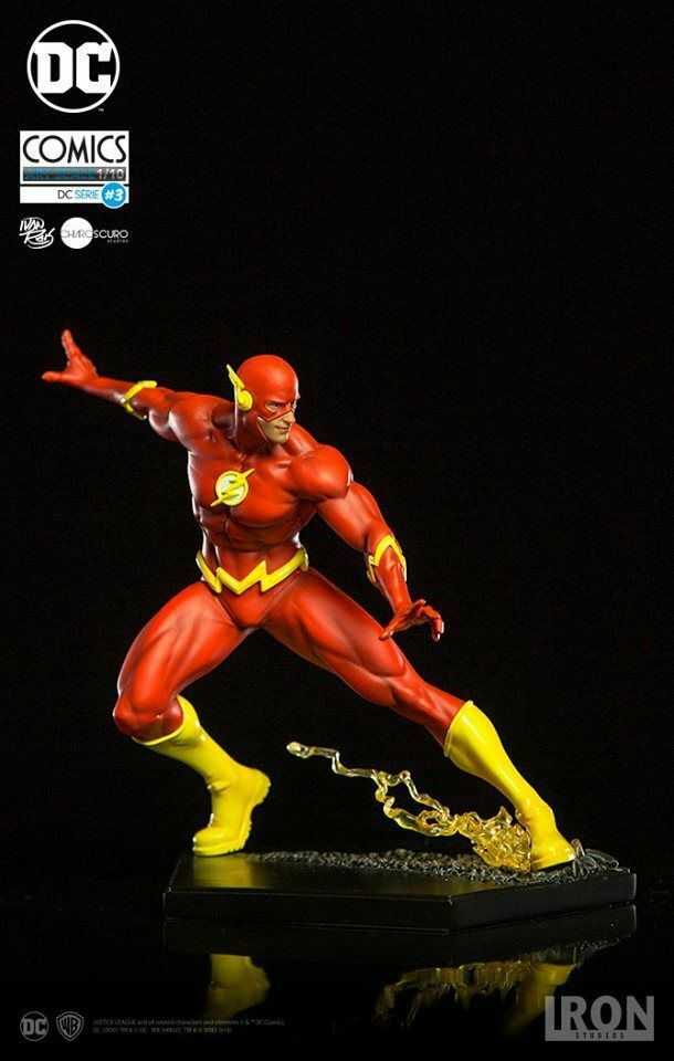 Iron Studios DC THE FLASH Comics Art Scale 1/10 Statue  on eBay thumbnail