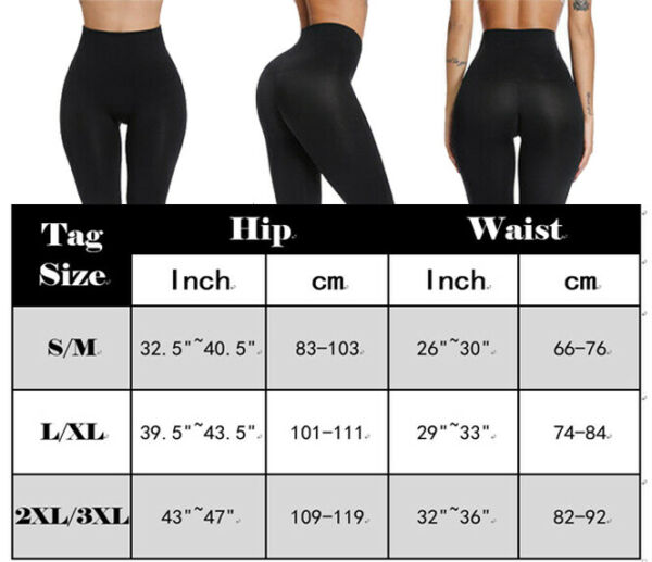 Frauen Abnehmen Body Shaper Bein Kompression Hohe Taille Cincher Shapewear Pants