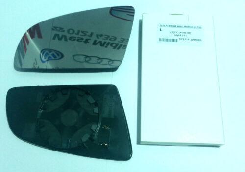 aile en verre miroir chauffé AUDI A3 /& A4 2003-2008 côté passager livraison gratuite