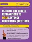 Ultimate One Minute Explanations to Og13 SC by Aristotle Prep (Paperback / softback, 2013)