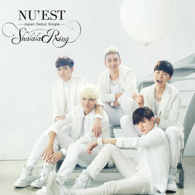 NU'EST JAPAN First Single [Shalala Ring] Type B (CD + DVD)  Limited Edition