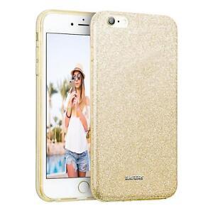 Handy-Huelle-iPhone-6-6S-Plus-5-5-Schutz-Huelle-Silikon-Cover-Glitzer-Case-Tasche