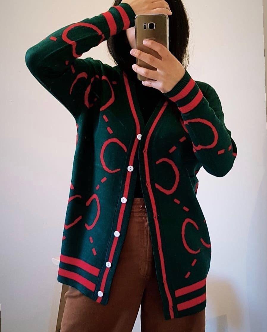 Designer Inspired Cardigan Jumper Sweater  Top Tunic Long Sleeve Dress Ladies