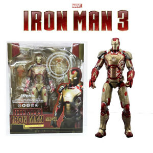 S-H-Figuarts-Avengers-Iron-Man-3-Mark-MK-42-Collection-SHF-Action-Figures-KO-Toy