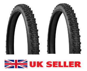 26 x 1.95 Mountain Bike Package 2 x Black Cycle Tyres