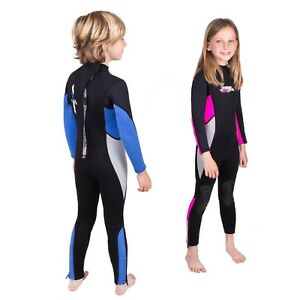 Preowned Seavenger Kids 3mm Neoprene Full Wetsuit with Super Stretch Panels