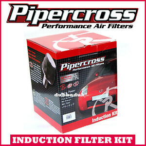 RENAULT-CLIO-MK2-1-2-16v-2003-75-Pipercross-Induction-Kit-Air-Filter-K-amp-N