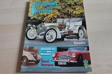 125360) Mercedes 1905 Simplex Peugeot Motorrad - Automobil Chronik 02/1983
