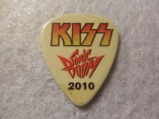 GUITAR PICK   Eric Singer - KISS 2010 Tour Issue guitar pick - Sonic Boom Tour b