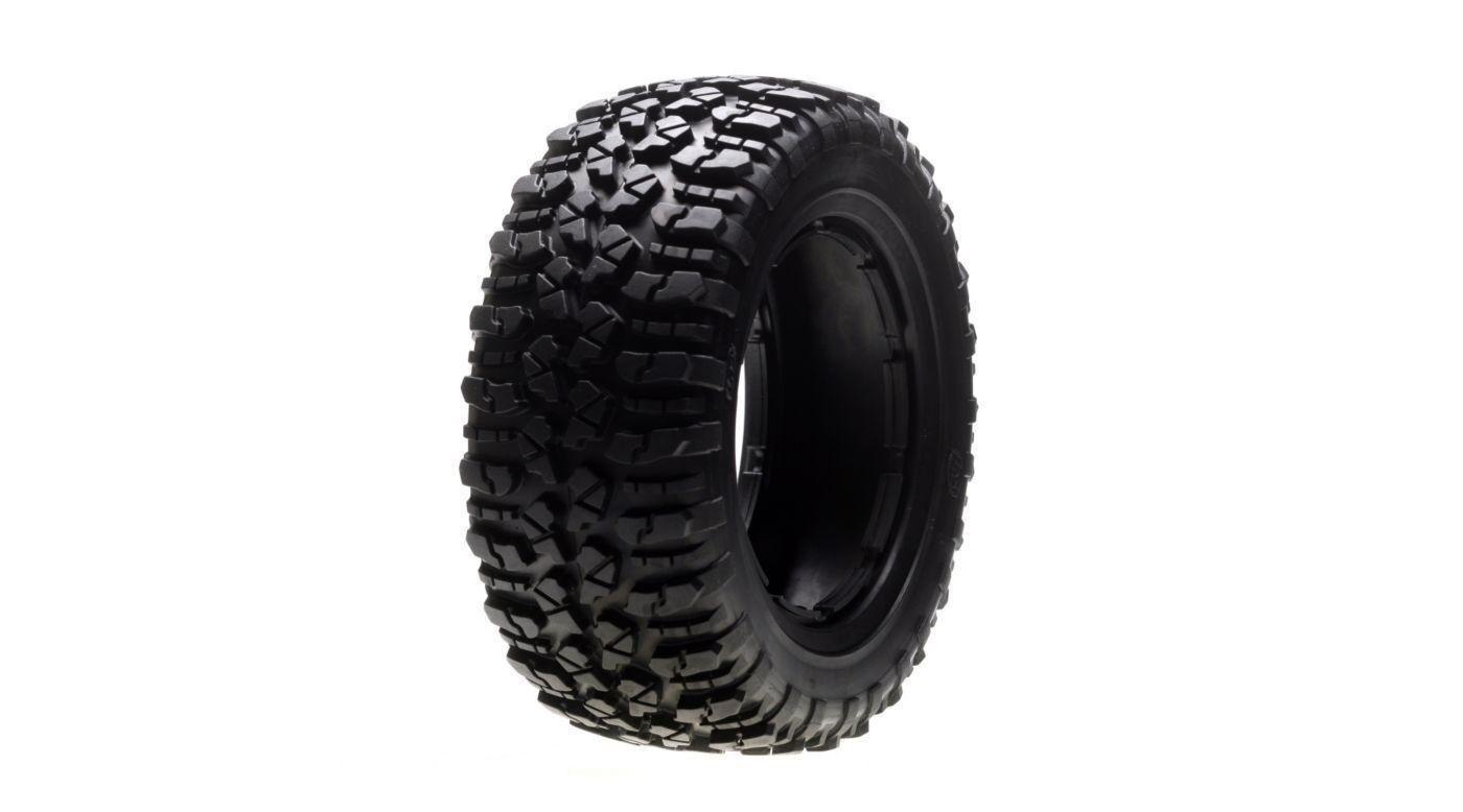 Squadra Losi Racing 5IVE-T LOSB7240 Nomad  Tire Set, Firm (1ea. L R)  5IVE-T  rivenditore di fitness