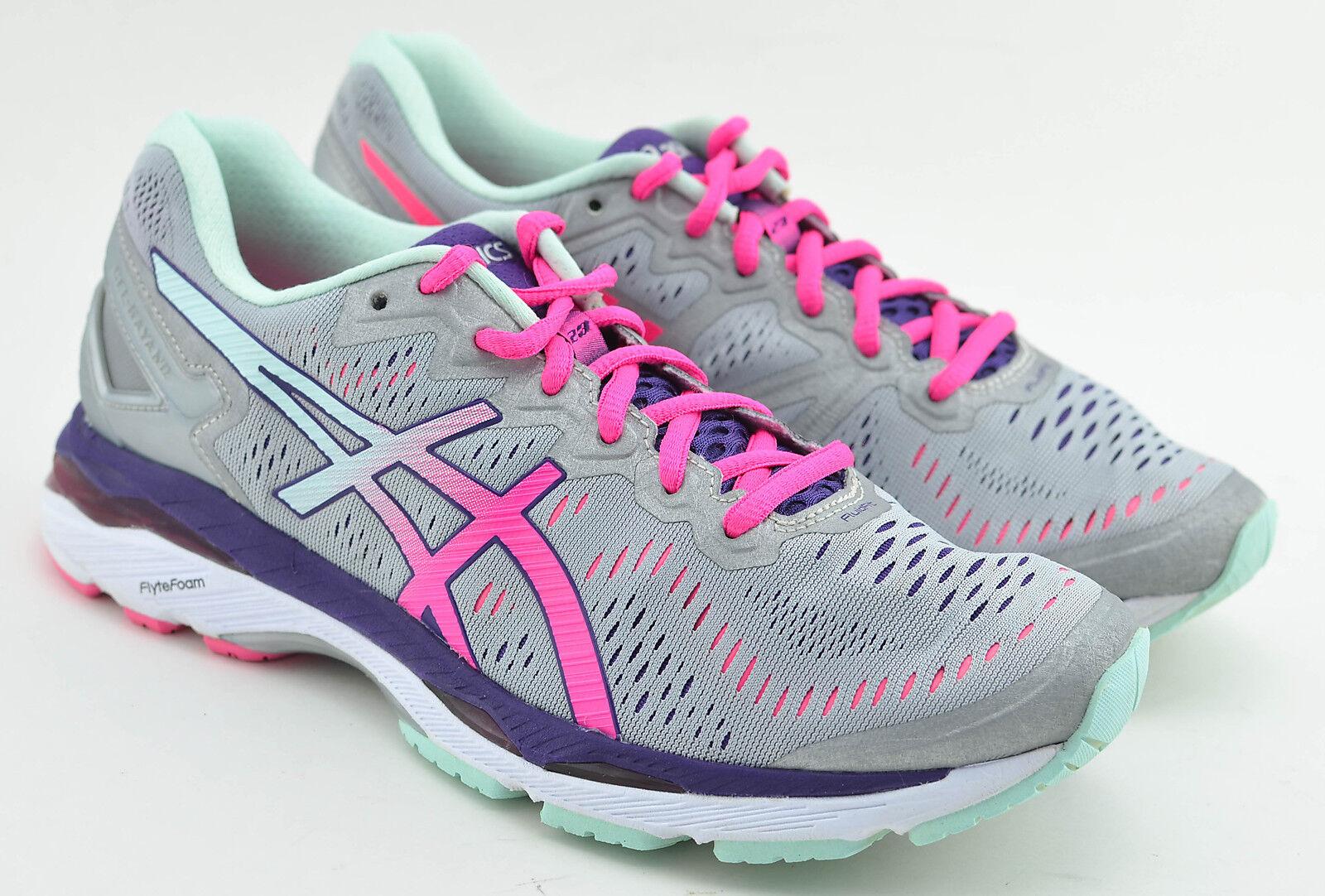 Mujer Asics Gel Kayano 9 23 running Zapatos Size 9 Kayano Gris Rosa Morado Blanco t696n especial de tiempo limitado f2791a