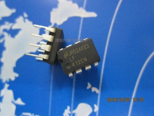 5PC LF412CN insertion directe DIP-8 412CN haute précision Amplificateur opérationnel