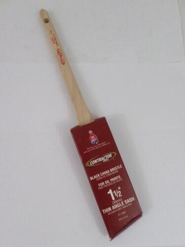 Sherwin Williams 171-3569 Contractor Series Black China Bristle Oil Paint Brush