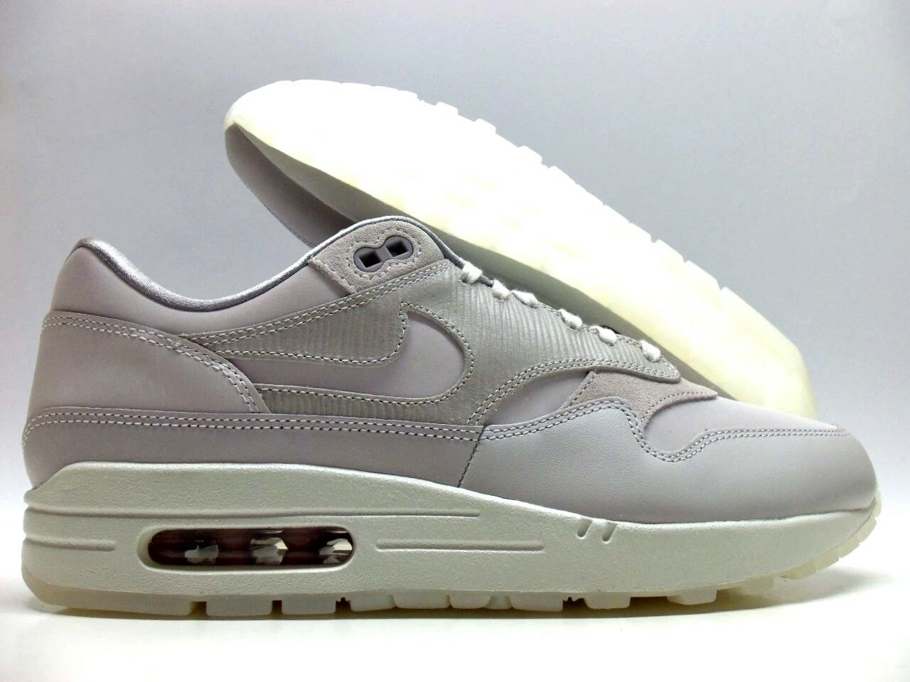 NIKE AIR MAX 1 PRM VAST GREY VAST GREY SIZE WOMEN'S 10.5 MEN 9 [454746-017]