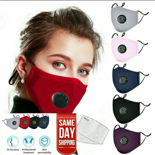 Cotton-Reusable-Face-Mask-with-2-Filters-Washable-Mask-Cover-Anti-Carbon-PM2-5