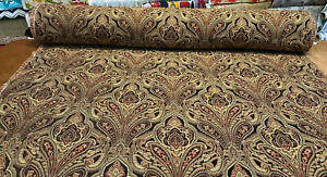 Ramiro-Damask-Truffle-Swavelle-Soft-Chenille-Upholstery-Fabric-By-The-Yard