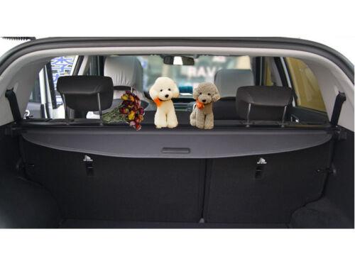 Black Rear Trunk Security Cargo Cover Shade for Santa Fe Sport 5-Seats 2013-2016