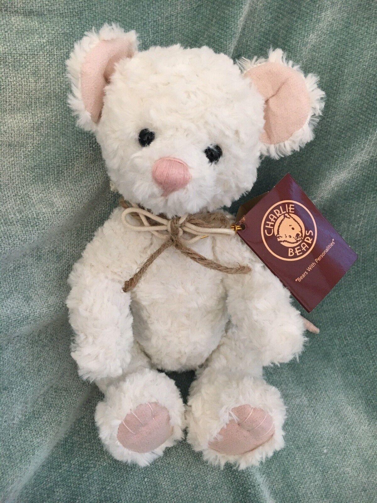 BRAND NEW CHARLIE BEAR WITH GIFT BAG - PEEPS