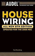 Audel House Wiring Book 8th Ed.~House-Security-TV-Mobile Home Wiring~Prepper~NEW