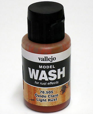 Vallejo LT RUST 76.505 MODEL WASH 35ml / 1.18 oz. Water based Acrylic Hobbies