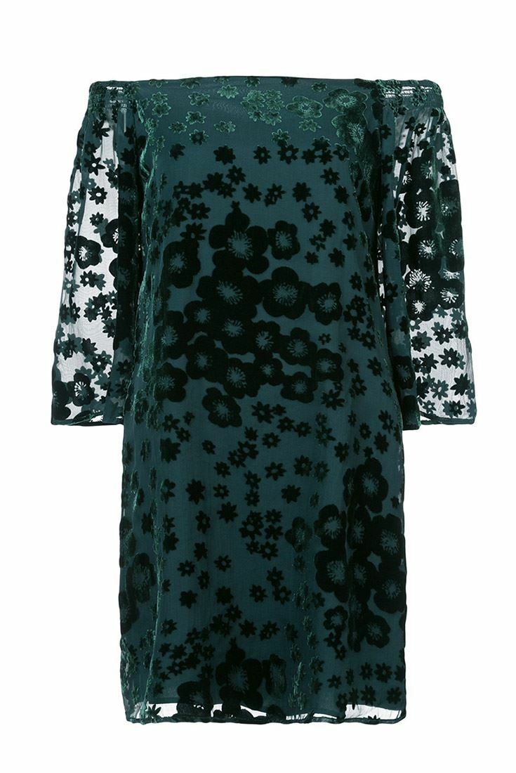 Trina Turk - Women's One One One Shoulder Shoulder Dress - Forest Green 88ecdf