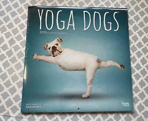 Yoga Dogs Calendar 2020 Square Wall 30 x 30cm