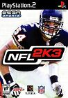 NFL 2K3 (Sony PlayStation 2, 2002) - European Version
