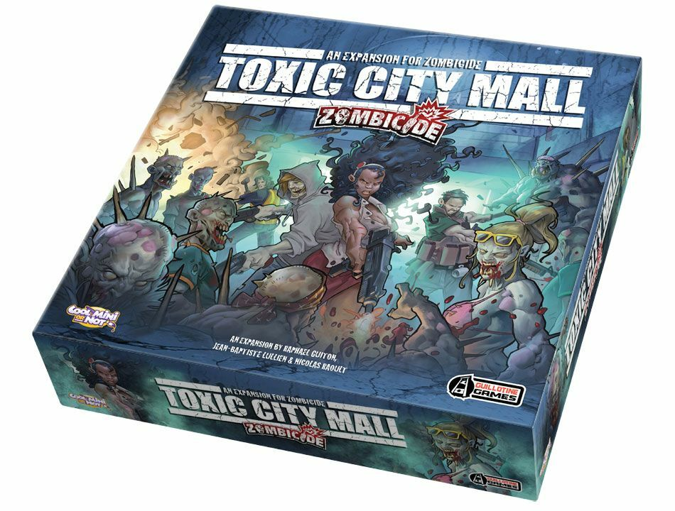 Zombiecide: Toxic City Mall Expansion, NEW