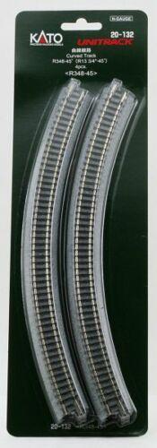 Kato By ancora 78106 N Binario curvo 4 pezzi GMK World of modelleisenb R 348-45 °