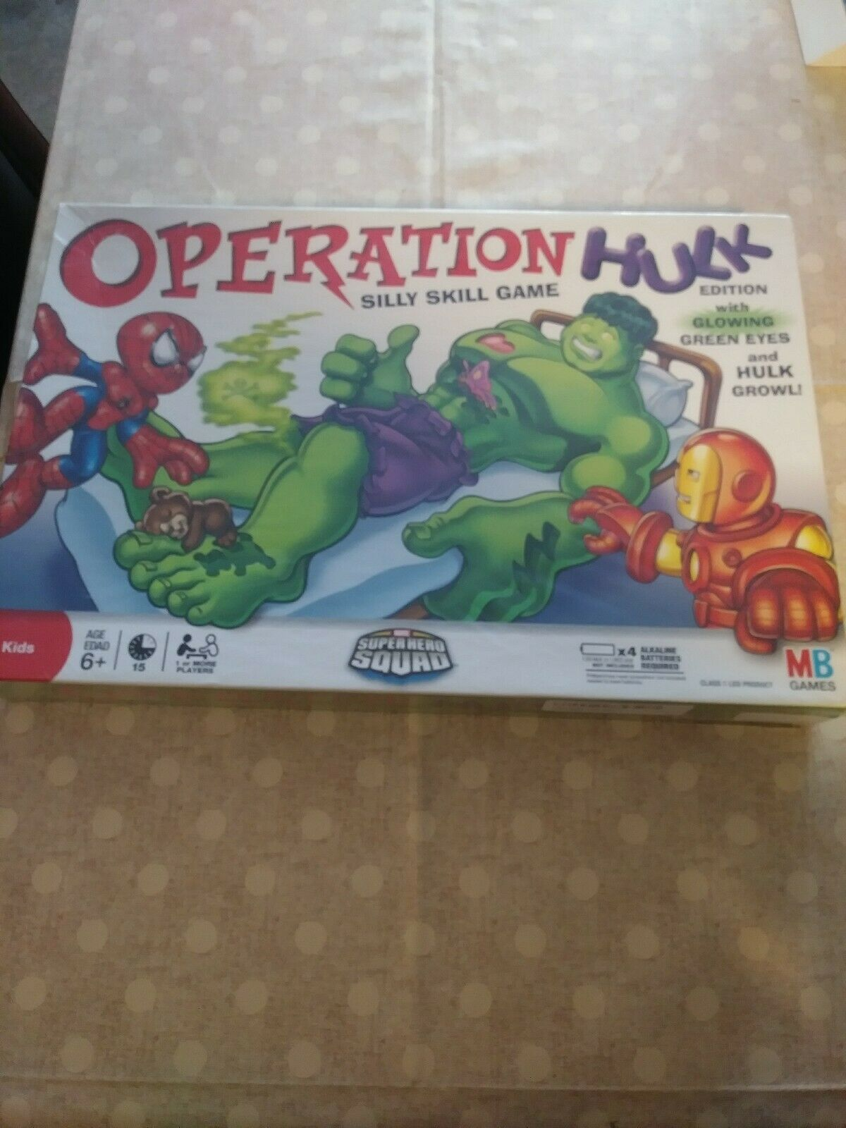 New in Box Operation Hulk Edition MB