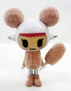 "Donutella /& Sweet Friends Vinyl Figure Tokidoki approx 3/"" SUGARINA cotton candy"