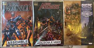 DARK AVENGERS set 11 Marvel HC and tpb books OOP Sentry Disney+ shows soon