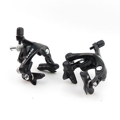 Shimano 105 R7000 Black Front and Rear Brake Calipers set
