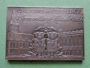 medaille-chambre-de-commerce-armentieres-hazebrouck-argent-massif