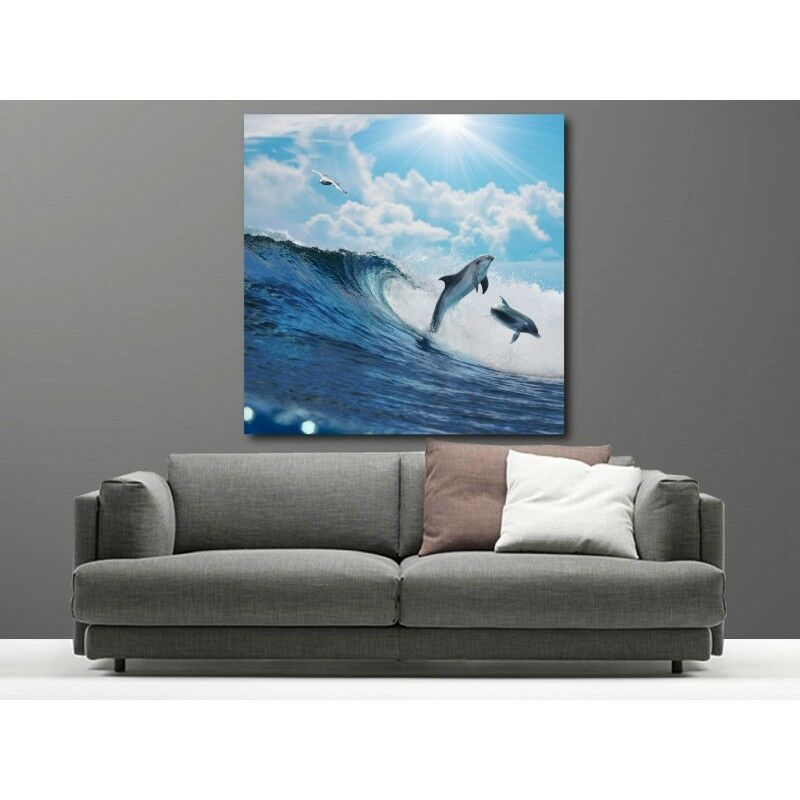 Canvas Fabric Deco Square Dauphin 70805110