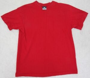 Cheetah-Tee-T-Shirt-Red-Medium-Short-Sleeve-Cotton-Man-039-s-Mens-Crewneck-Top-Solid