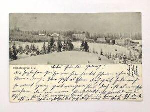 Postkarte  Reiboldsgrün im Vogtland