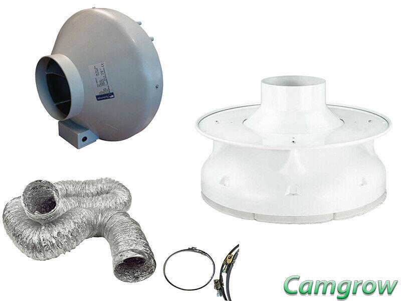 Prima Klima PITPUK Filter Complete Kit with RVK Fan, Ducting & Jubilee clips
