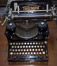 TRIUMPH STANDARD N.15 MACCHINA DA SCRIVERE del 1930 OLD & RARE TYPEWRITER