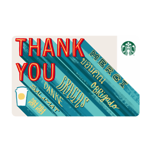 Details about NEW 2018 STARBUCKS TAIWAN COFFEE GIFT OTG CARD THANK YOU FREE  SHIPPING #249