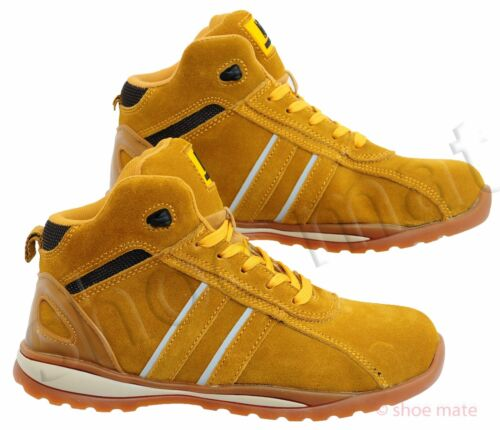 PPE MENS ULTRA LIGHTWEIGHT STEEL TOE CAP SAFETY ANKLE WORK BOOTS SHOES TRAINERS