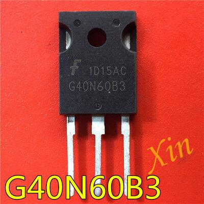 5pcs HGTG40N60B3 G40N60B3 IGBT Transistor FAIRCHILD TO-247