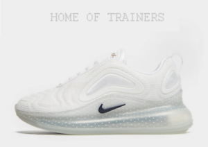676fcad3ed Details about Nike Air Max 720 Unite Totale White Girl Women's Trainers All  Size Limited stock