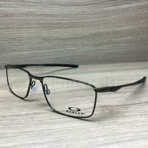 bc12c86375b Oakley Socket 5.0 Eyeglasses Satin Pewter OX3217-0255 Authentic 55mm ...