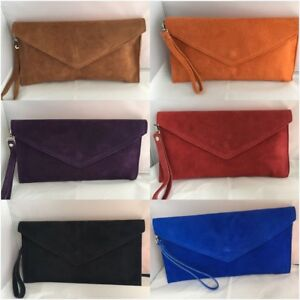Existencias no Patent orange beige Purse no black Bag Handbag Envelope Suede Red purple Designer brown Hay Existencias no Leather Clutch Existencias Blue royal coffe Italian Faux 5xSgaWq