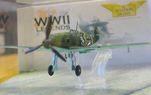 Corgi-Aa32104-Messerschmitt-Bf-109e-Jg-26-Schlageter-Eduard-Neuman-1939-Nuevo