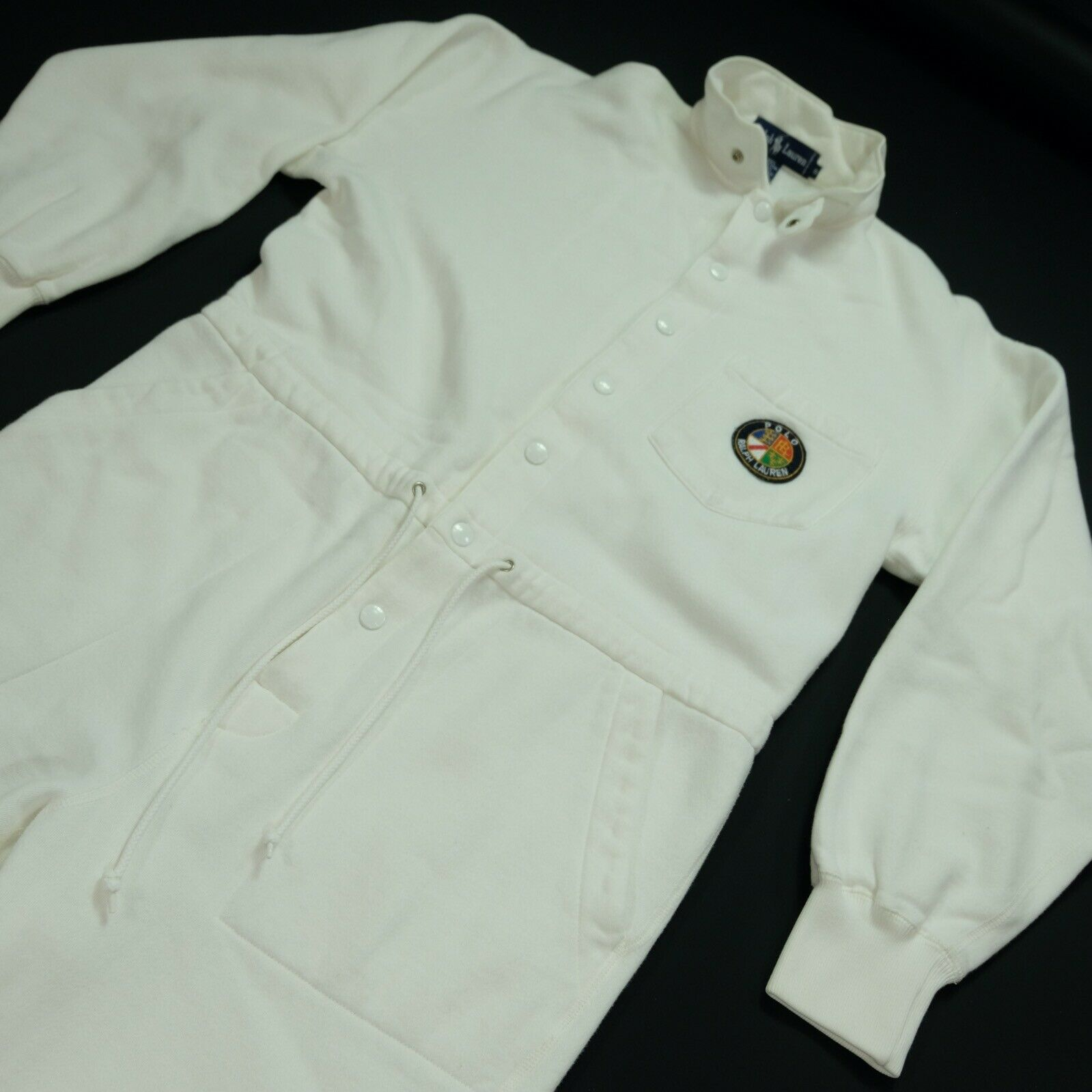 Rare VTG RALPH LAUREN Polo Spell Out Cookie Patch… - image 1
